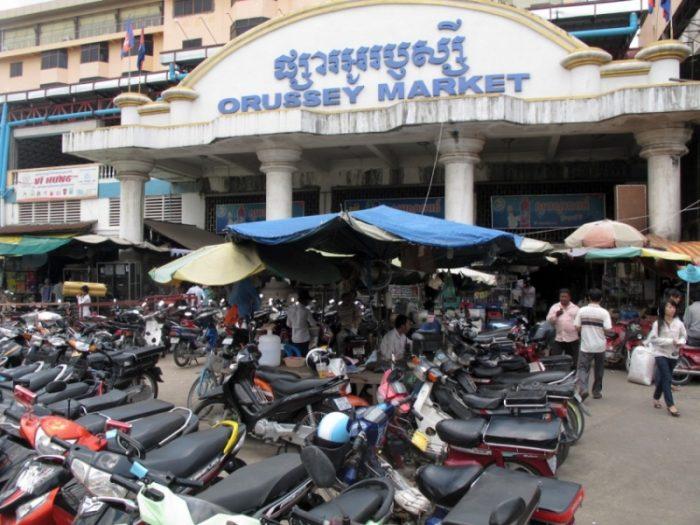 Chợ Đồ Si ở Campuchia - Orussey (nguồn hình: anarchak)