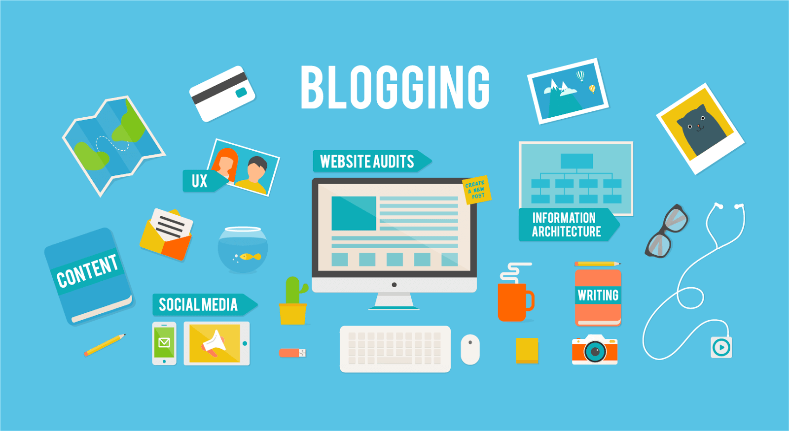 Các nền tảng blog miễn phí