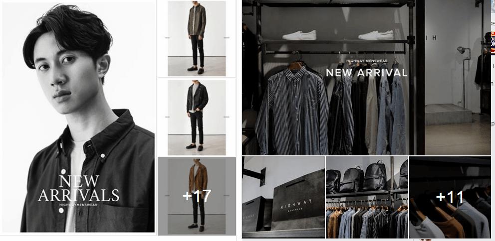 Shop quần áo nam Highway
