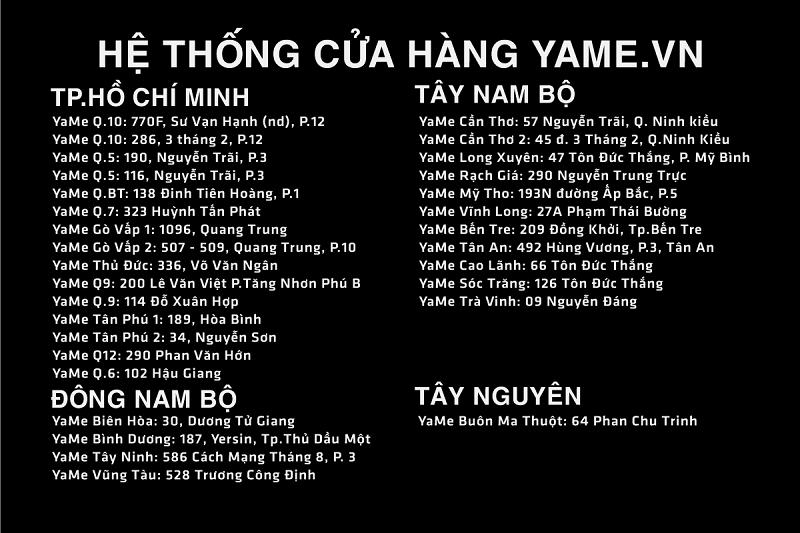 yame he thong cua hang