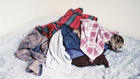 Cách xử lý quần áo hàng thùng