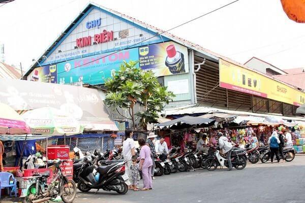 nguồn hàng Chợ Kim Biên
