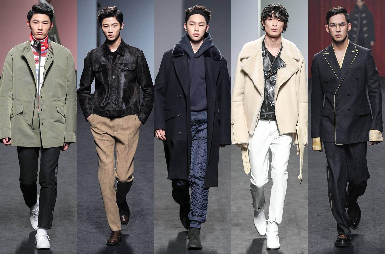 Thời trang si Hàn Quốc dành cho nam