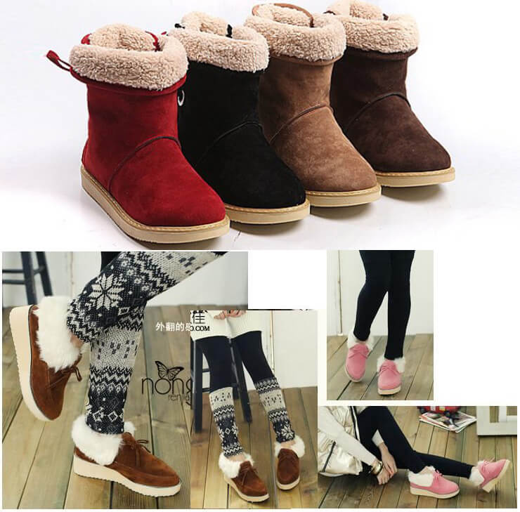 Giày boot thu đông