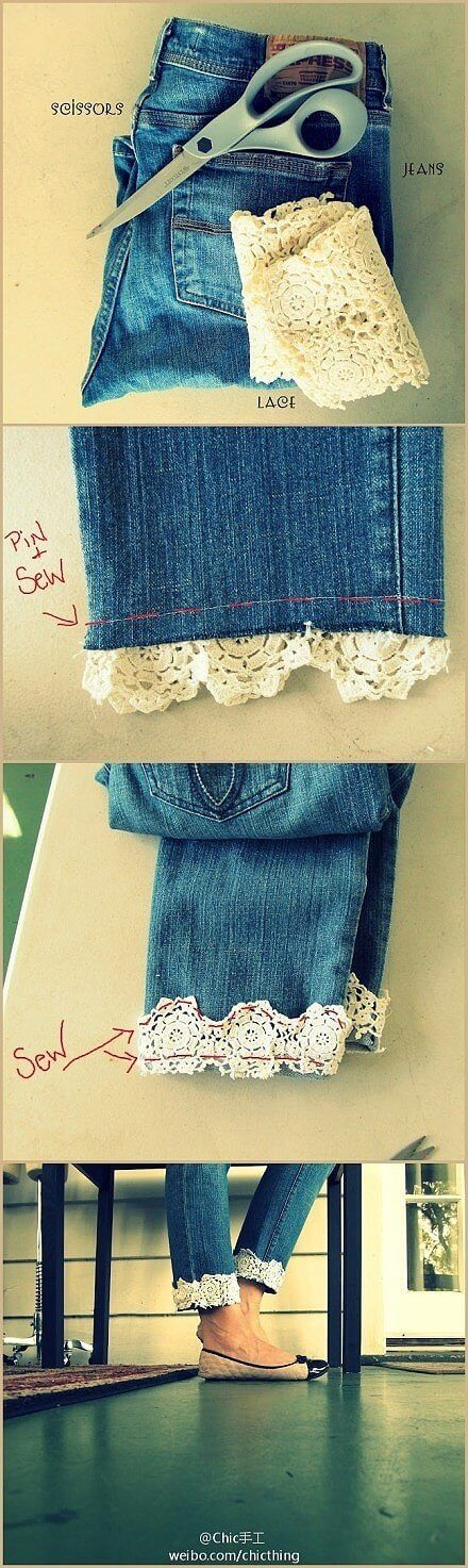 Tận dụng quần áo cũ