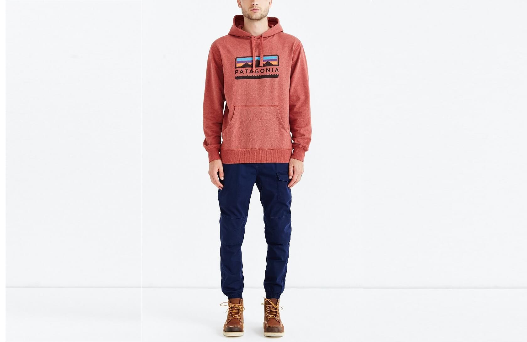 Quần jogger nam túi hộp phối hoodie (nguồn hình: Lyst)