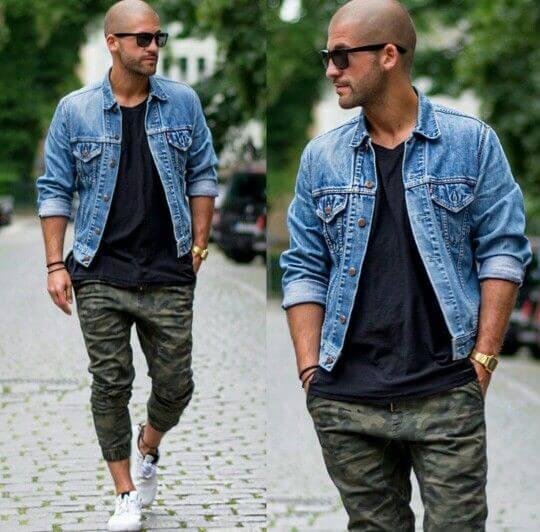 Phối áo khoác jean (Nguồn hình: google)