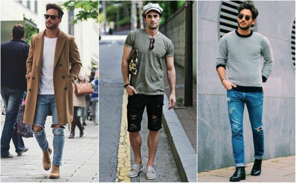 Sự bùng nổ của quần jean rách (Nguồn hình: Entertainment Rave Magazine)