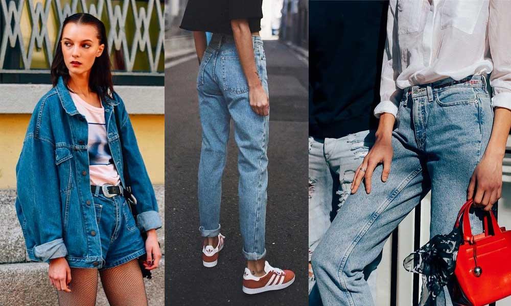 Đồ jean phong cách vintage