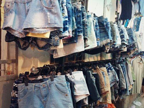 lấy sỉ quần jean- quần short jean