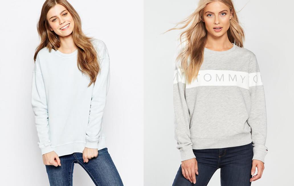 Sweater nữ và quần jean (Nguồn hình: Google)