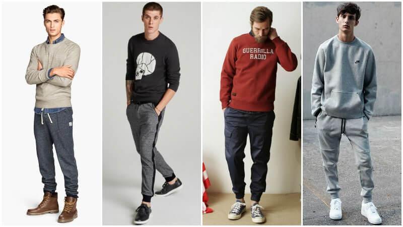Sweater nam với Jogger (Nguồn hình: thetrendspotter.net)