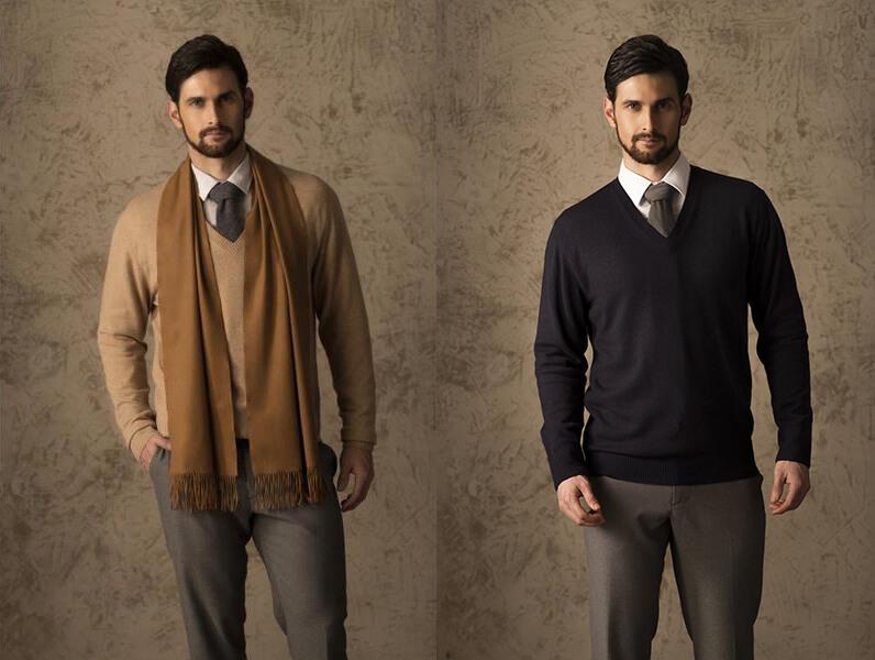 Sweater, Sơ mi, Cà vạt (Nguồn hình: Alpaca Collections)