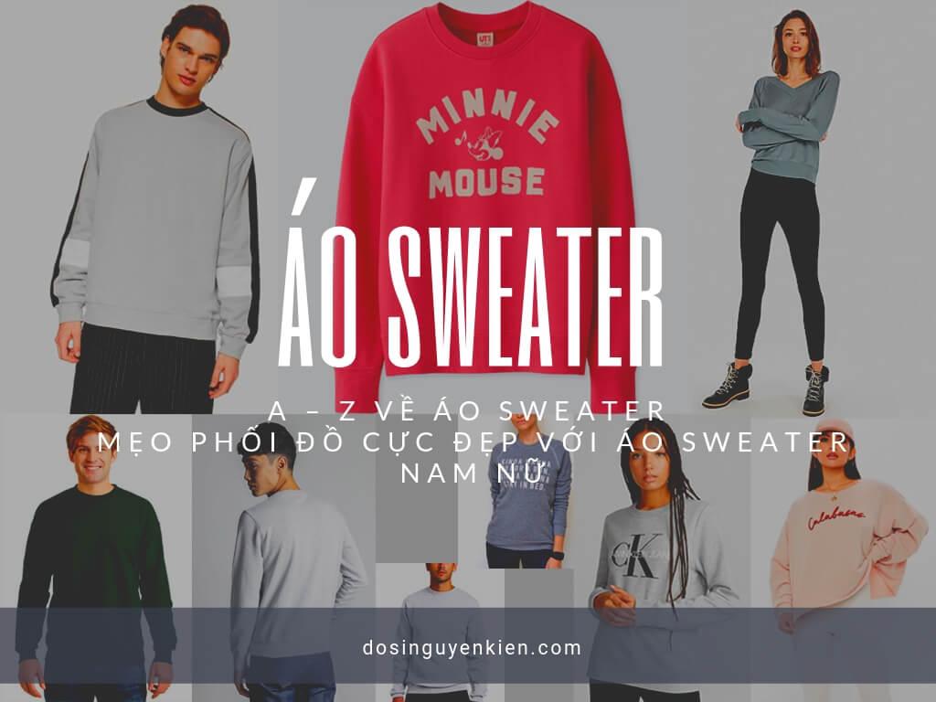 Áo Sweater Nam Nữ
