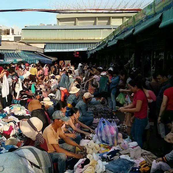 Đồ bành Chợ Cồn (Nguồn hình: dulichdanang24h)
