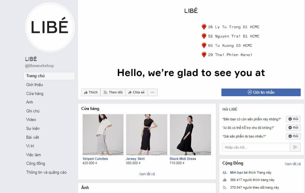 Shop quần áo nữ LIBÉ WORKSHOP
