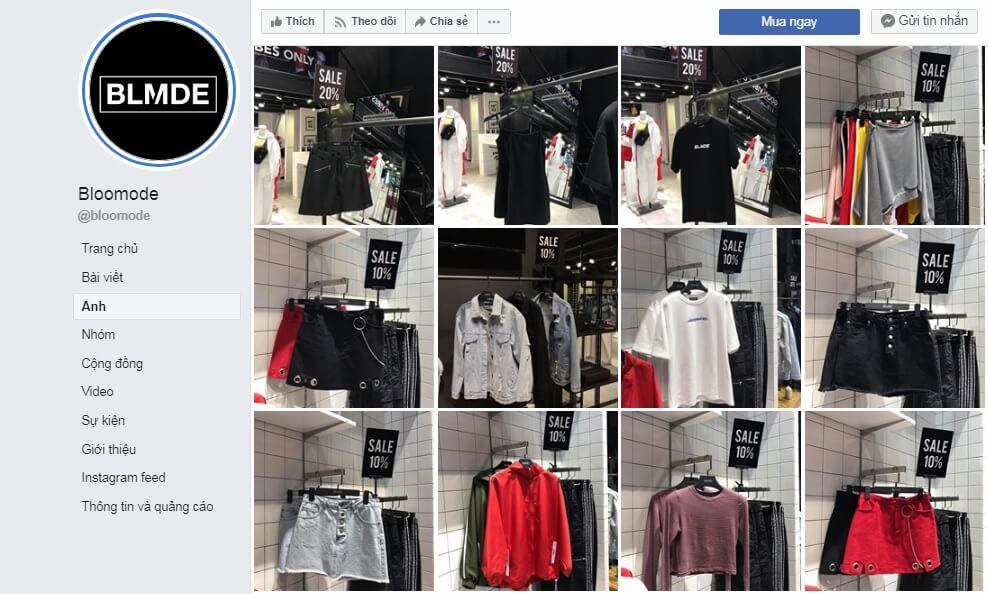 Shop quần áo nữ TPHCM Bloomode