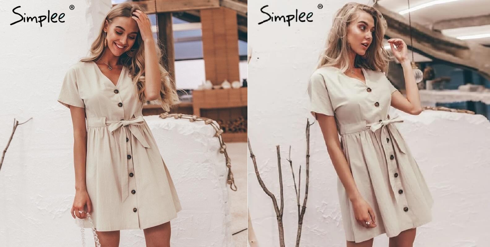 Váy vintage - Nguồn hình: Simplee