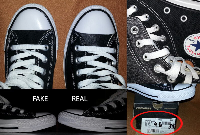 chọn kinh doanh giày converse secondhand hay converse fake