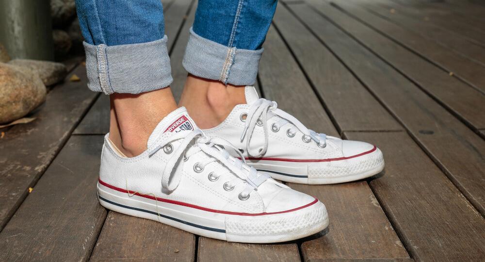 giày converse nữ trắng