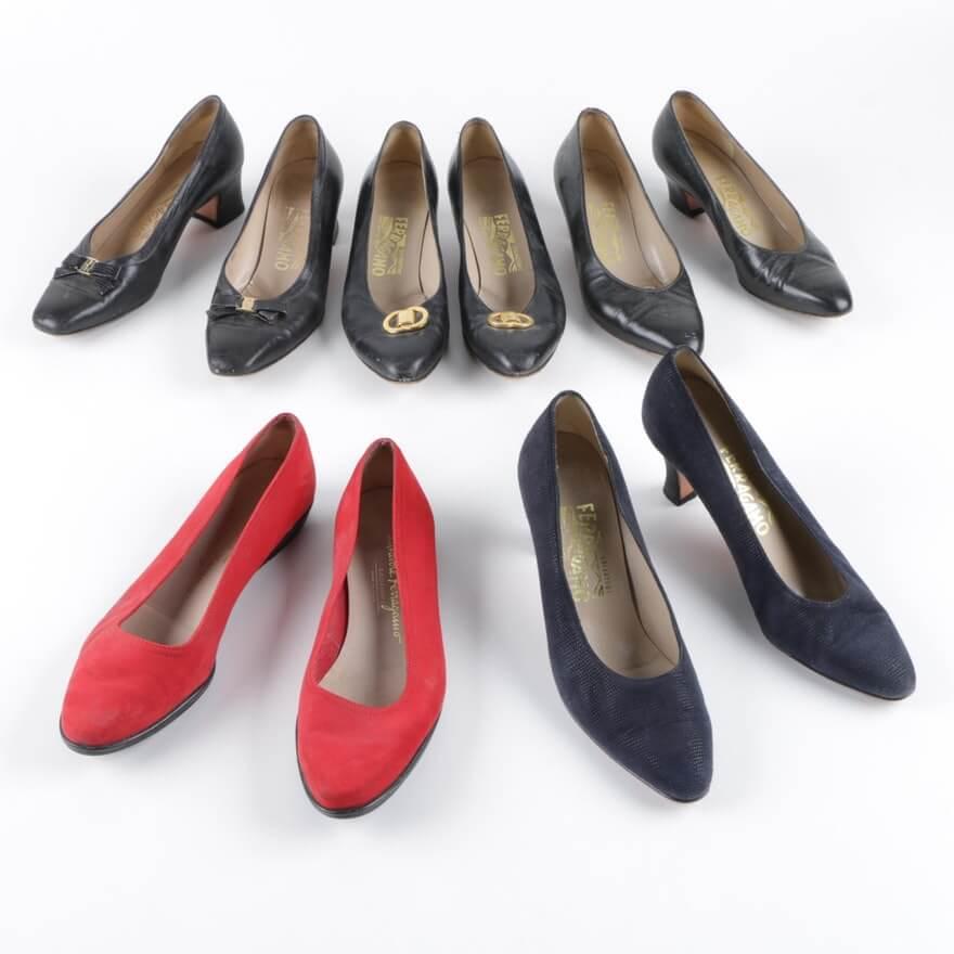 Giày công sở nữ secondhand mới đến 90%