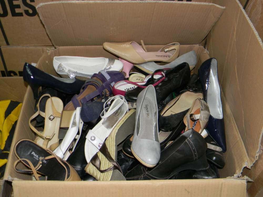 Nguyên thùng giày nữ secondhand