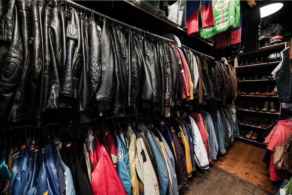 shop áo da hàng thùng