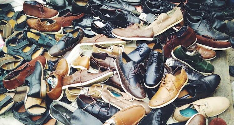 Tình trạng giày da secondhand