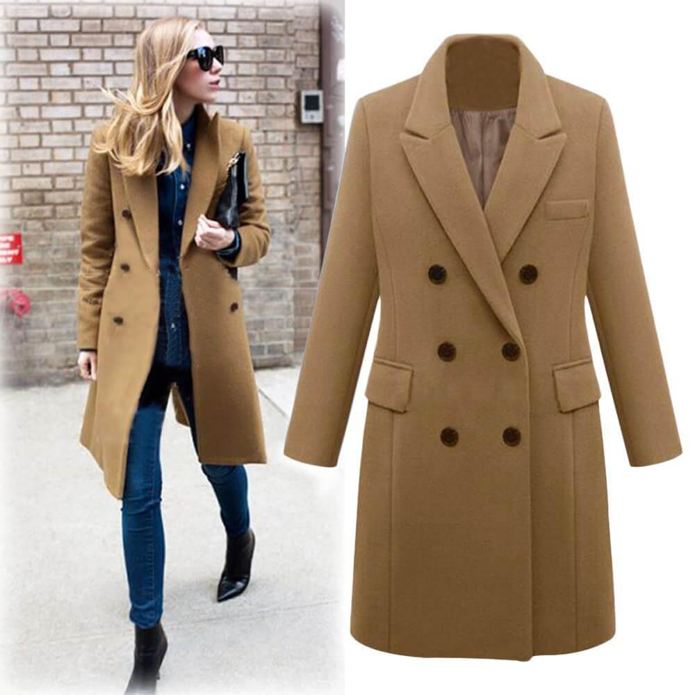 Áo khoác dạ đã hấp dẫn được các cô gái ở mọi thời đại