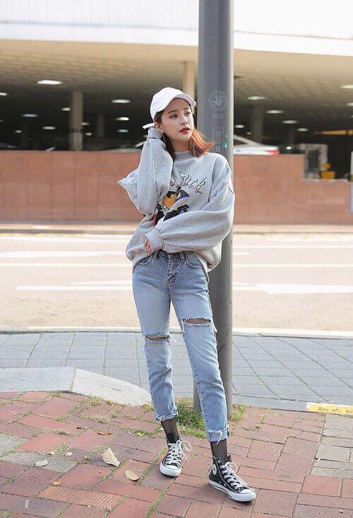 Áo sweater nữ