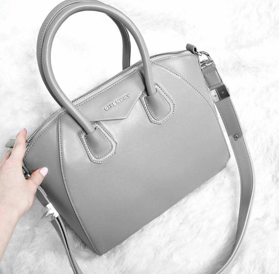 Túi xách màu xám