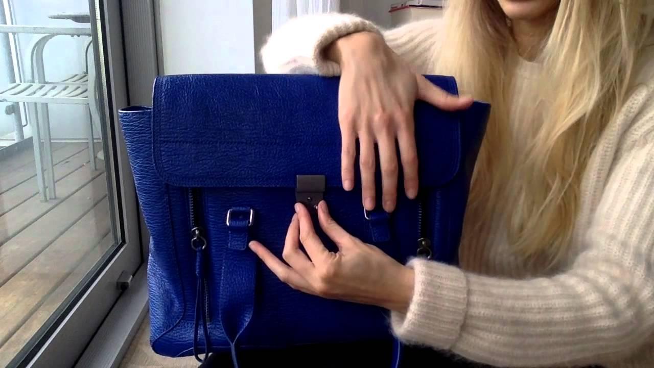 Túi xách màu xanh coban