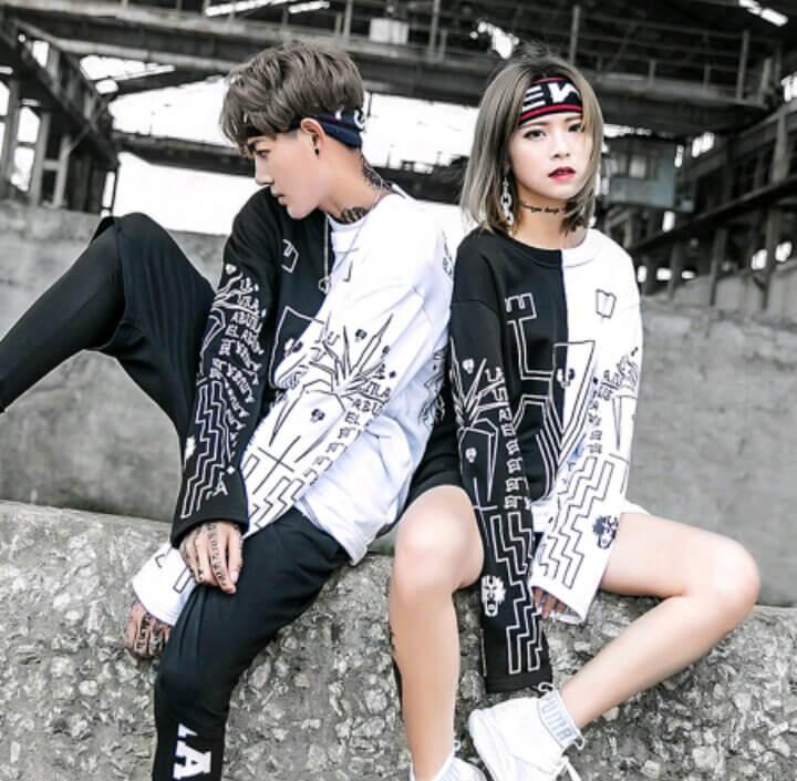 Phong cách unisex Nhật