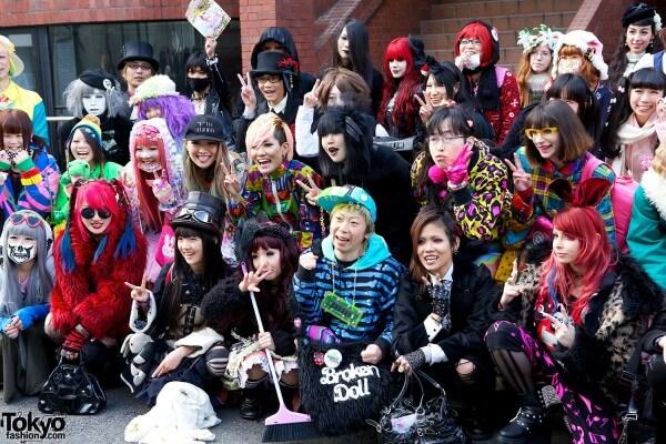 Trào lưu Harajuku tại Nhật