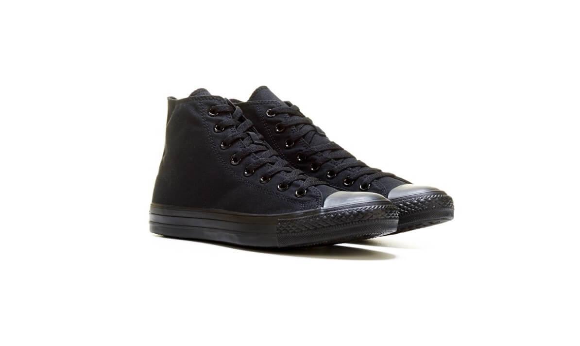 Giày Converse nữ All star full black