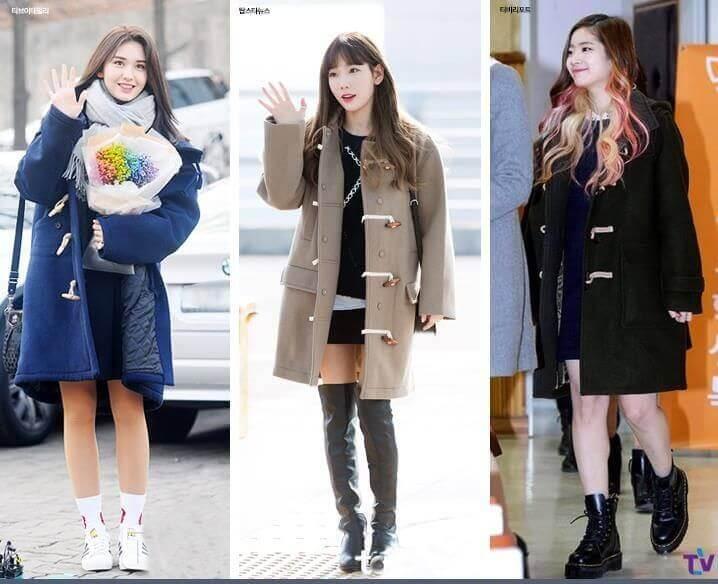 Thời trang mùa đông đẹp Kpop
