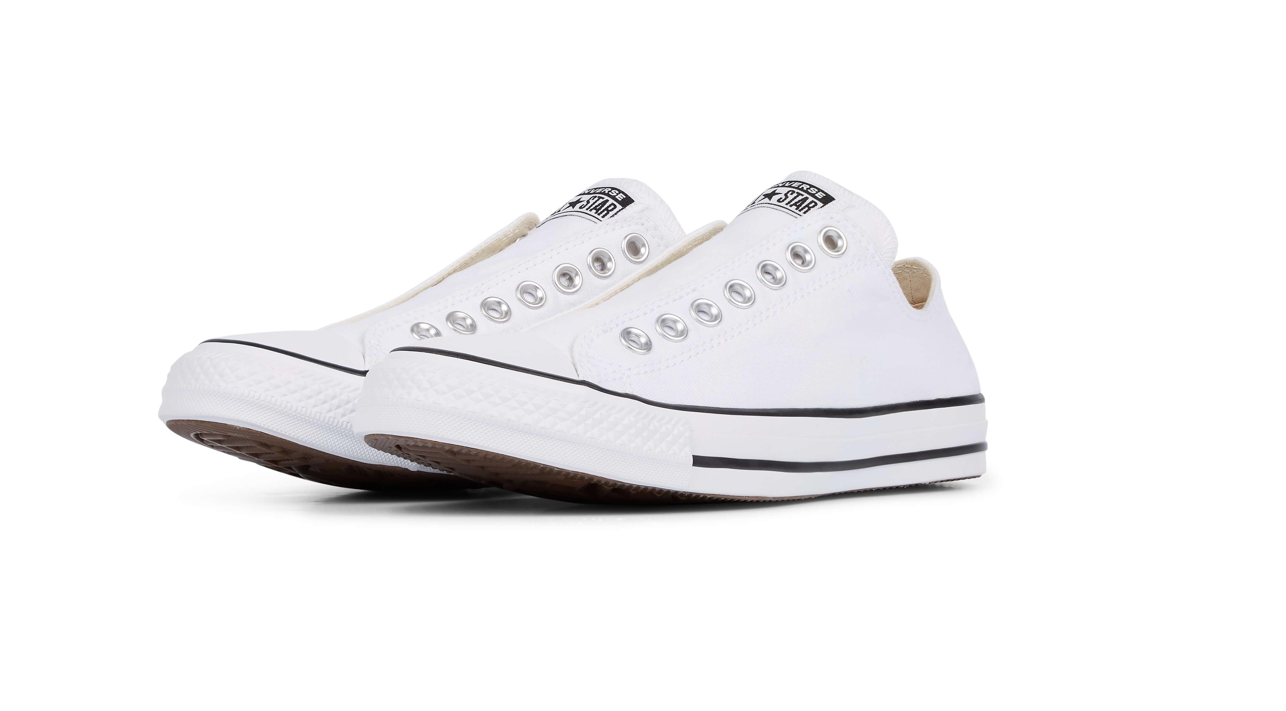 Giày converse nữ Slip on Có lổ
