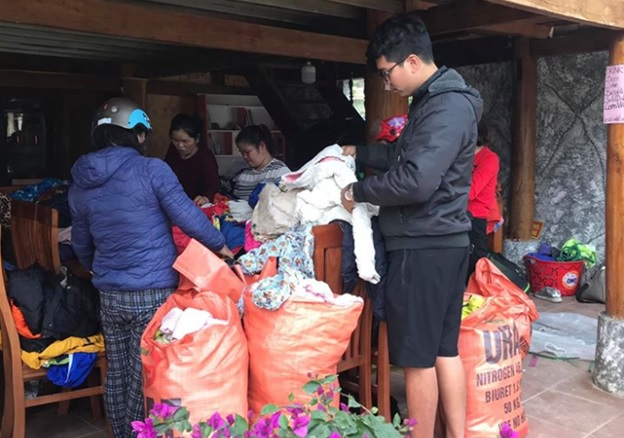 Hình chuyến đi tặng áo ấm Hà Giang