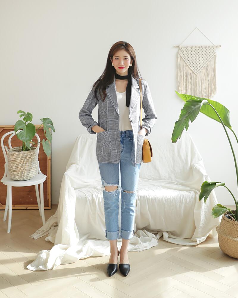 Cách phối đồ với baggy jeans