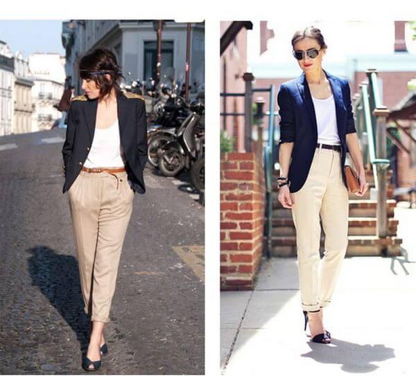 Áo blazer nữ và quần âu