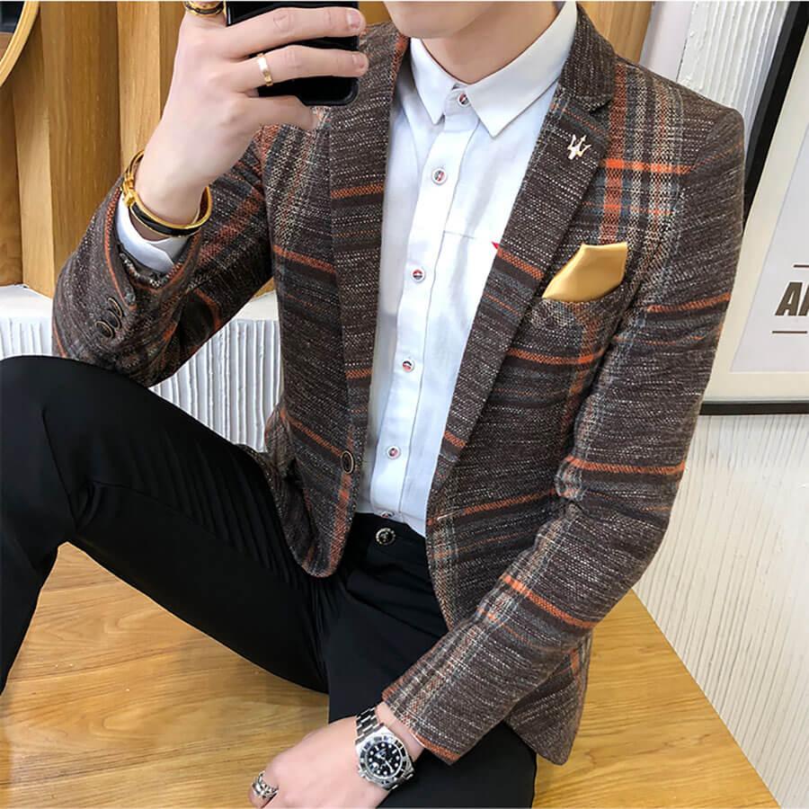 Áo blazer cũng có loại dành cho nam giới