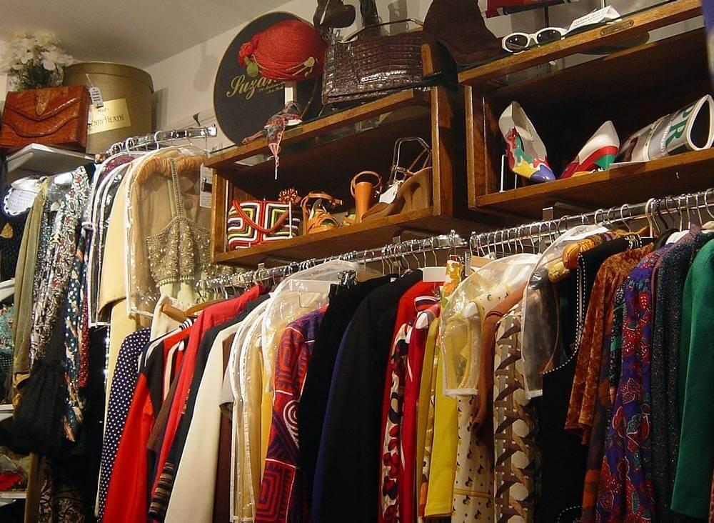 Quần áo vintage hàng thùng, hàng si, hàng secondhand