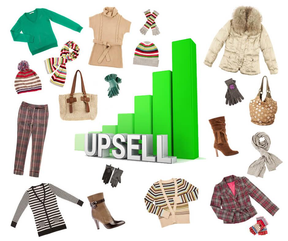 Upsell là gì? 5 cách upsell khi bán quần áo