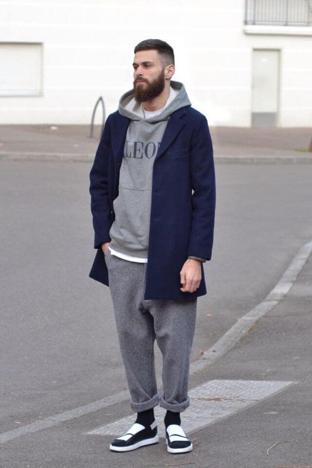 Hoodie nam + baggy pants