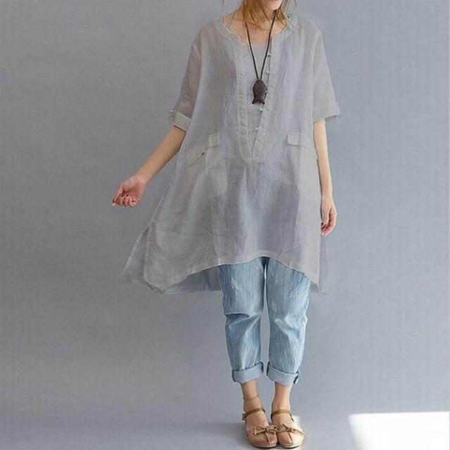 Baggy + blouse cách điệu