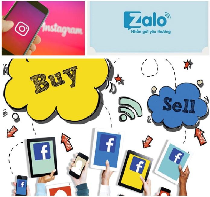 Kinh doanh quần áo với vốn 10 triệu trên zalo + facebook + instargram