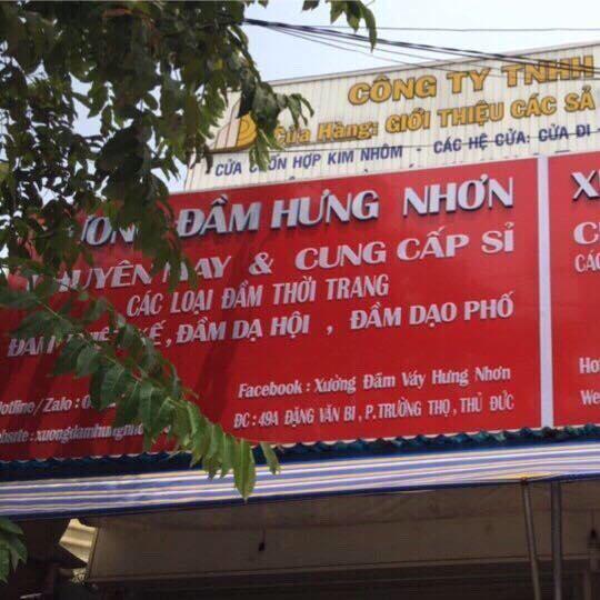 Kho xưởng lấy sỉ đầm váy Hưng Nhơn