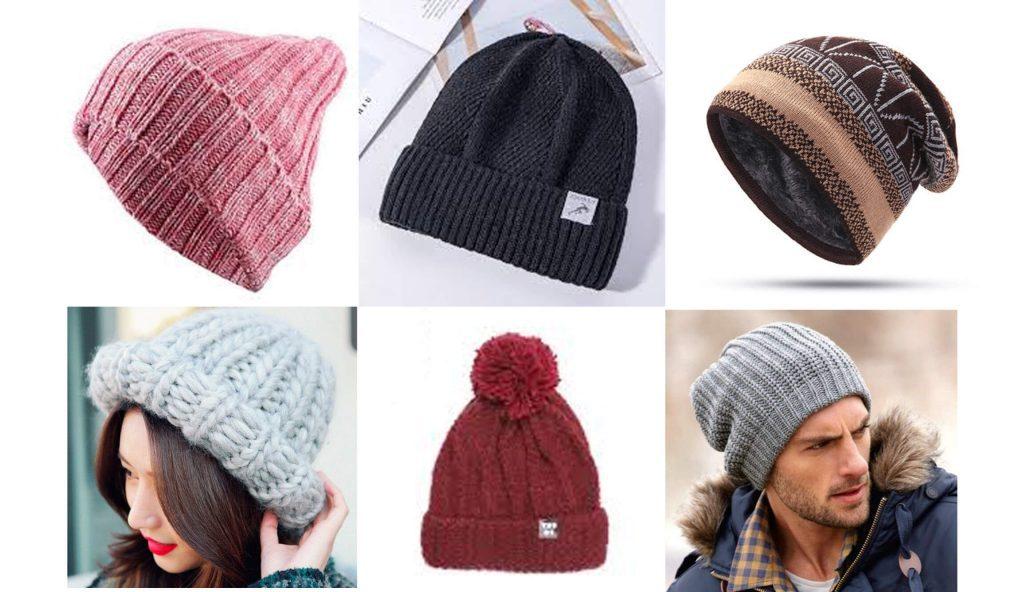 Các kiểu nón len