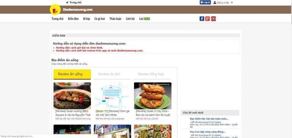 forum diadiemanuong.com
