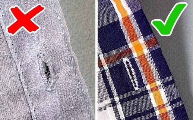 Kiểm tra chất lượng quần áo